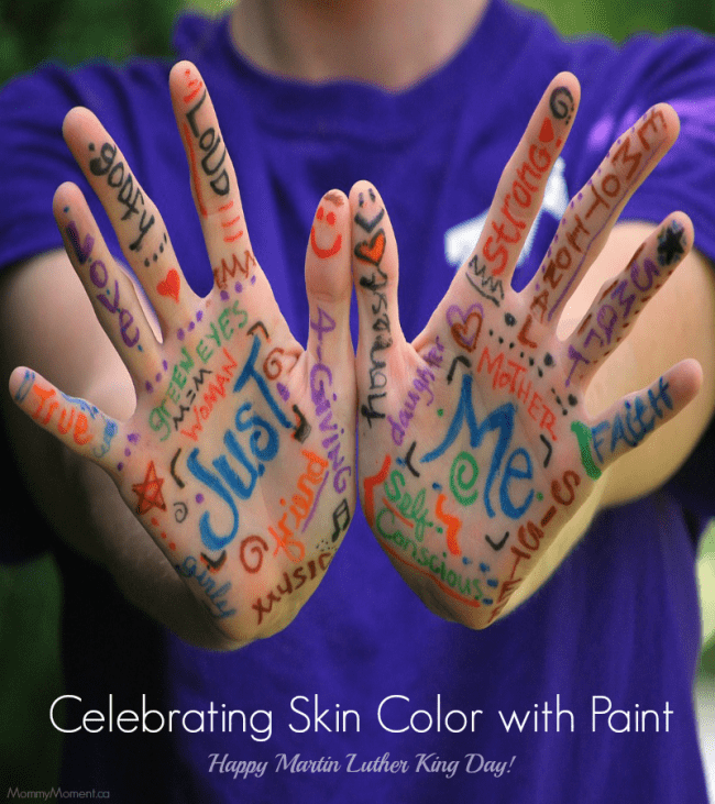 Celebrating Skin Color with Paint