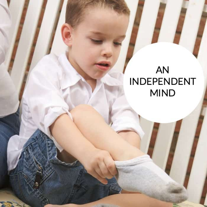 An Independent Mind – Fostering Independence In Children.