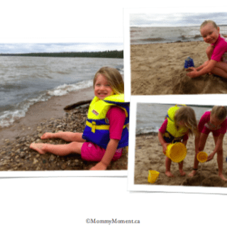 Wordless Wednesday {Beach Fun} with Linky too