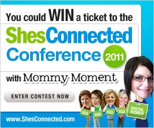Enter to WIN a ticket to the ShesConnected Conference #SCCTO with Mommy Moment