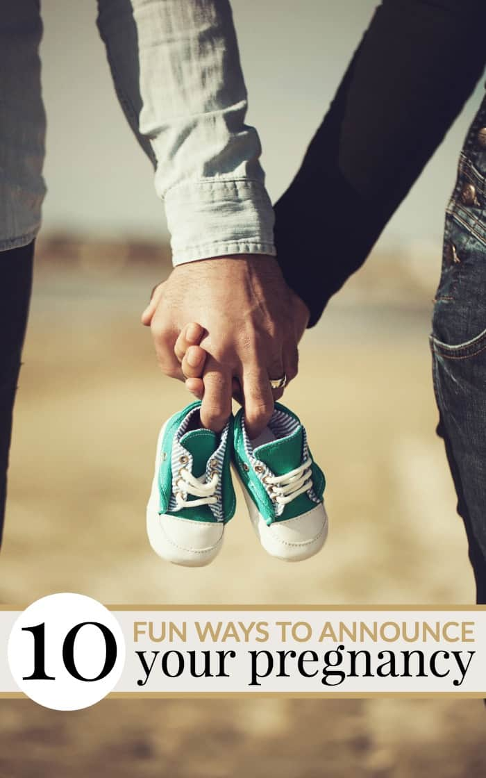 fun ways to announce your pregnancy in person or online.