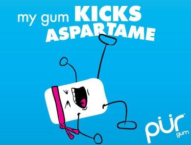 aspartame free gum