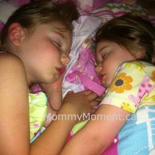 Wordless Wednesday ~ Sleeping Sisters (Linky)