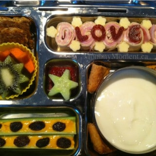 Lovable Lunch for 1st Day of School