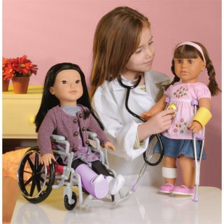 Win a complete doctor set for your 18 inch doll #giveaway