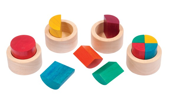 Fraction Cups