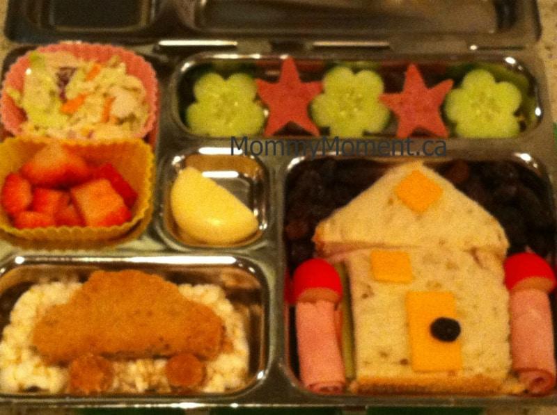 House & car theme lunch