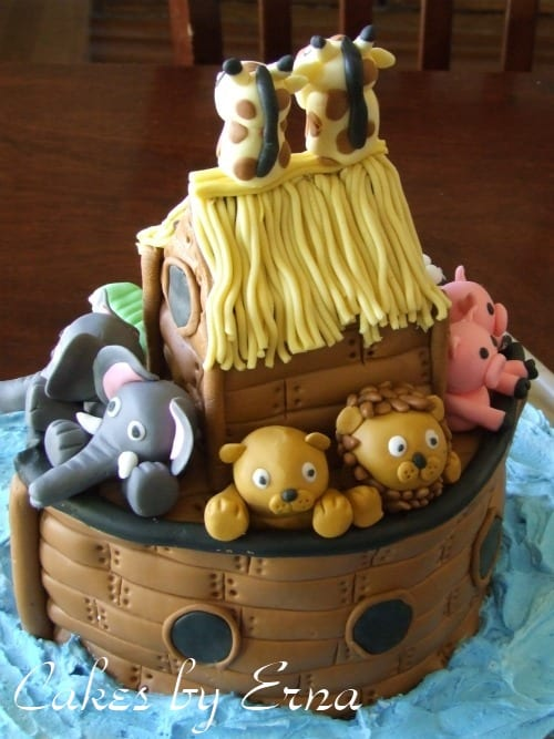 Noahs Ark Birthday Cake