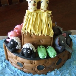 A Special Cake For a Special Day! {Noah's Ark}