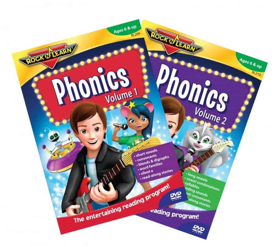 Phonics Volume 1: Rock N Learn