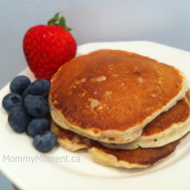 Cottage Cheese Pancakes - Mommy Moment