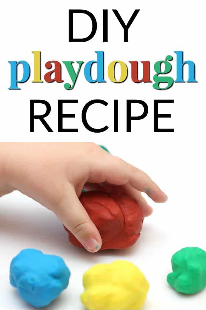 DIY Playdough recipe