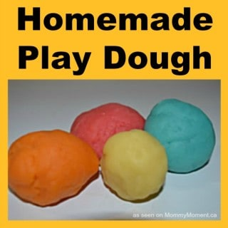 DIY PLAYDOUGH RECIPE