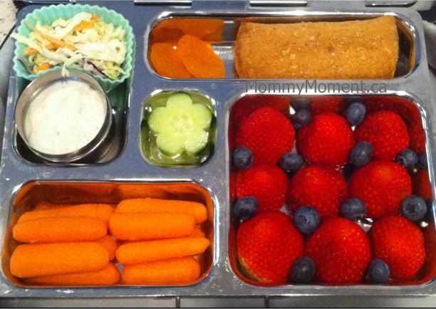 colorful snacks