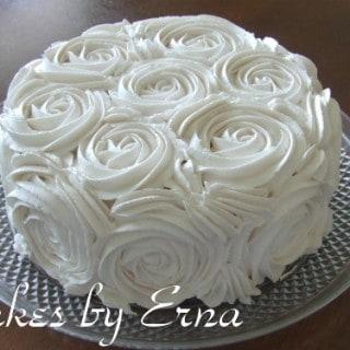 Swirling Roses Cake