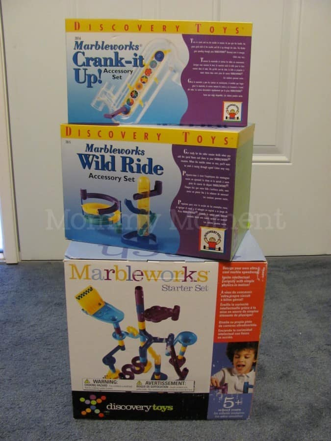 Discovery Toys Marbleworks 174 Giveaway Mommy Moment