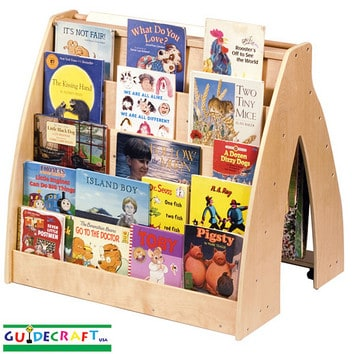 Guidecraft: Universal Book Display & Storage : Mommy Moment