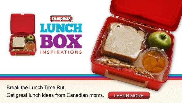 How My Child Would Pack Her Lunch #DempstersLunch