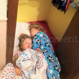 We Can Sleep Anywhere ~ Wordless Wednesday {Linky}