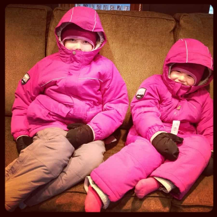 Winter Ready : Mommy Moment