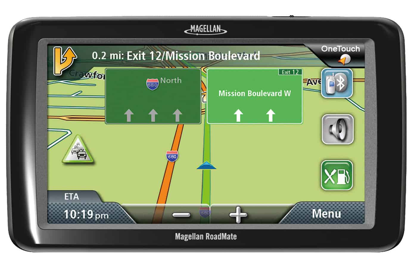 Magellan RoadMate 9055-LM {with FREE lifetime map updates}