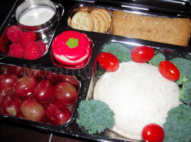 Remembrance Day  Bento Themed Lunch : Mommy Moment