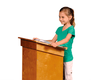 Guidecraft Little Lectern & chance to #WIN {ARV $200}