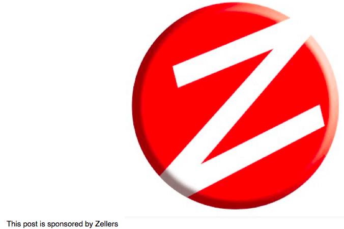 Zellers closing tactics make me laugh : Mommy Moment
