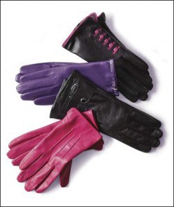 Leather Gloves from Mark's : Mommy Moment