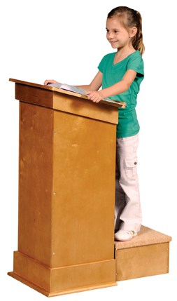 Guidecraft little lectern : Mommy Moment