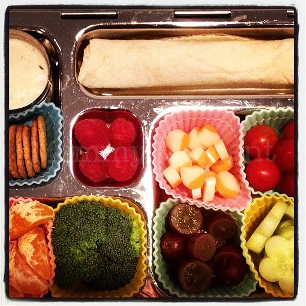 A Colorful Lovable Lunch