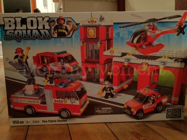 Hello Kitty Big House & Blok Squad Fire Patrol Station #Giveaway