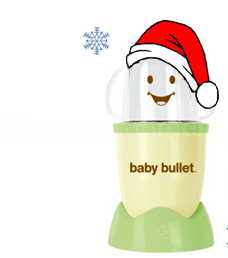 Christmas recipe ideas for babies & a Baby Bullet #giveaway