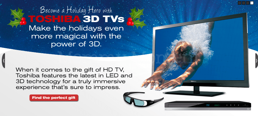 Check out the #ToshibaTelevision 3D TL515 series {via a ShesConnected, Toshiba Brand Ambassador}