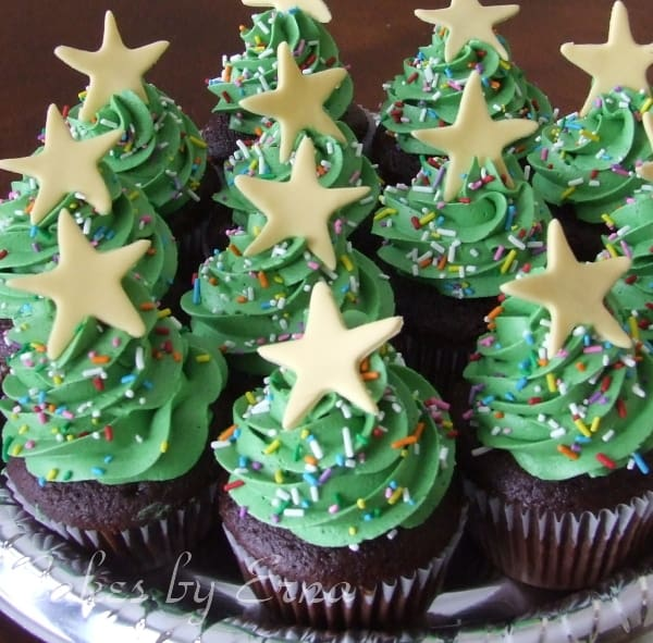 Christmas Tree Cupcakes : Mommy Moment