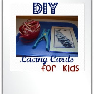 Make Your Own Lacing Cards