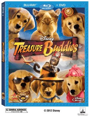 Win 1 of 3 Disney Treasure Buddies DVD/Blu-Ray Combo Packs #giveaway