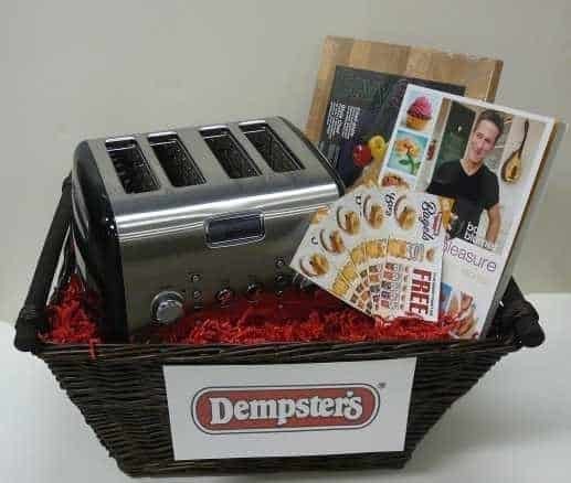 $150 National Bagel Day Prize Pack from Dempsters