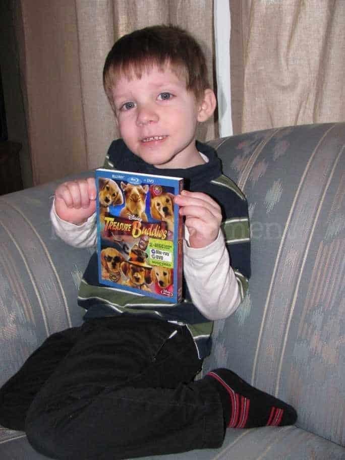 Family Movie Night with Treasure Buddies