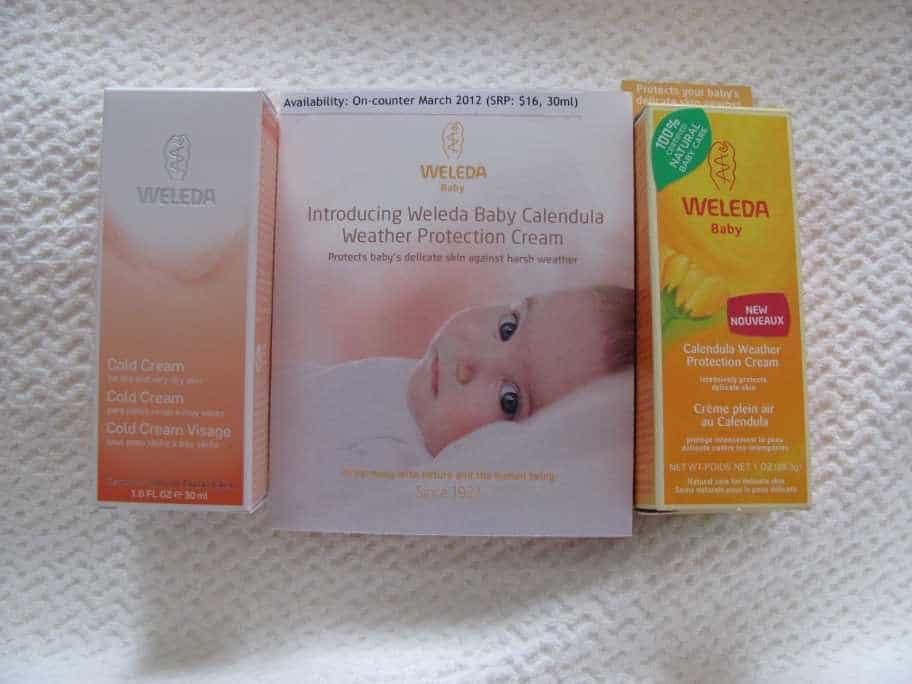 Weleda Baby Skin Care Line #giveaway ($130 value)