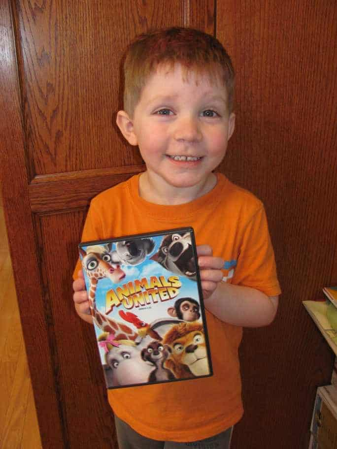 Animals United DVD #giveaway {3 Winners}