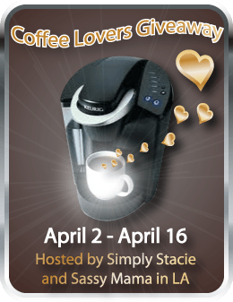 Coffee Lovers #Giveaway {Hint, a Keurig machine & more}