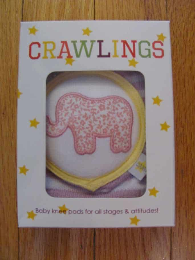 Protect Your Baby's Knees with Crawlings Knee Pads #giveaway