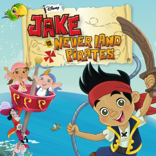 Jake & The Neverland Pirates and Strawberry Shortcake Marathons on Disney Junior