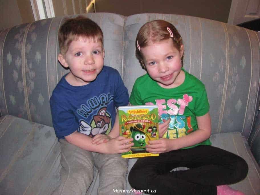 VeggieTales: Robin Good & His Not-So-Merry-Men #giveaway