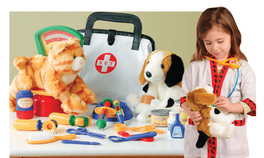 The Play Vet Set is a must have toy for the little animal lover #giveaway