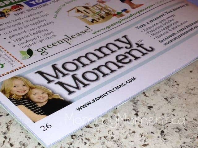 Mommy Moment in a Magazine! #WordlessWednesday {linky}