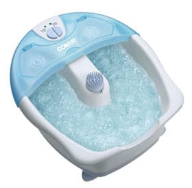 Conair's Massaging Foot Bath will tempt even the busiest woman to take a moment off of her feet #giveaway