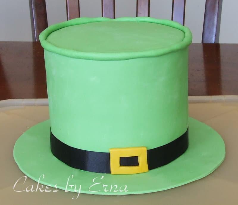 St. Patrick's Day Leprechaun Hat Cake