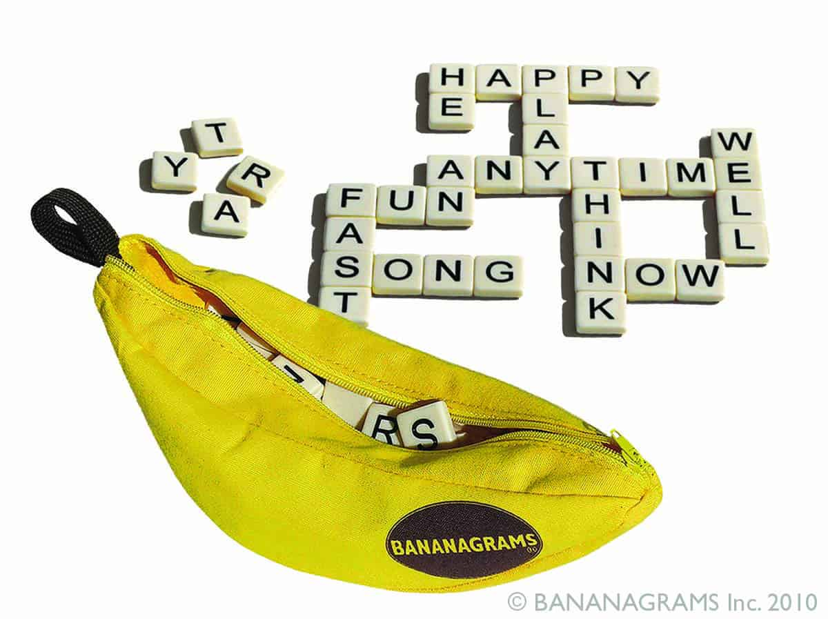 Award-winning Bananagrams' family of games #giveaway